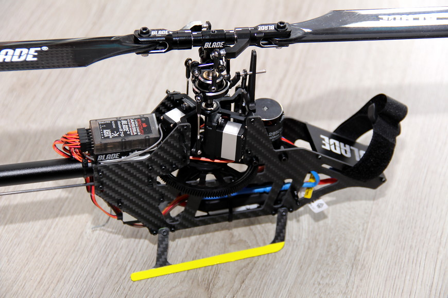 Blade Fusion 270 BNF: Chassis