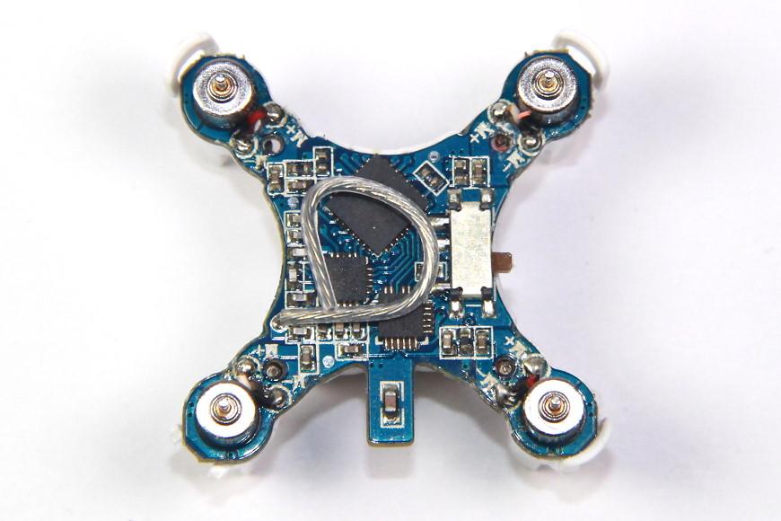 Cheerson CX-STARS: Blick auf die Elektronik