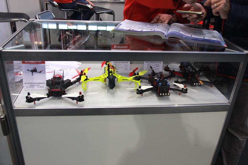 Faszination Modellbau 2016 Friedrichshafen: Multikopter von Graupner
