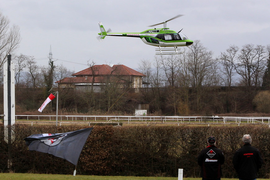 ROTOR live 2018 Iffezheim: Bell 206B3