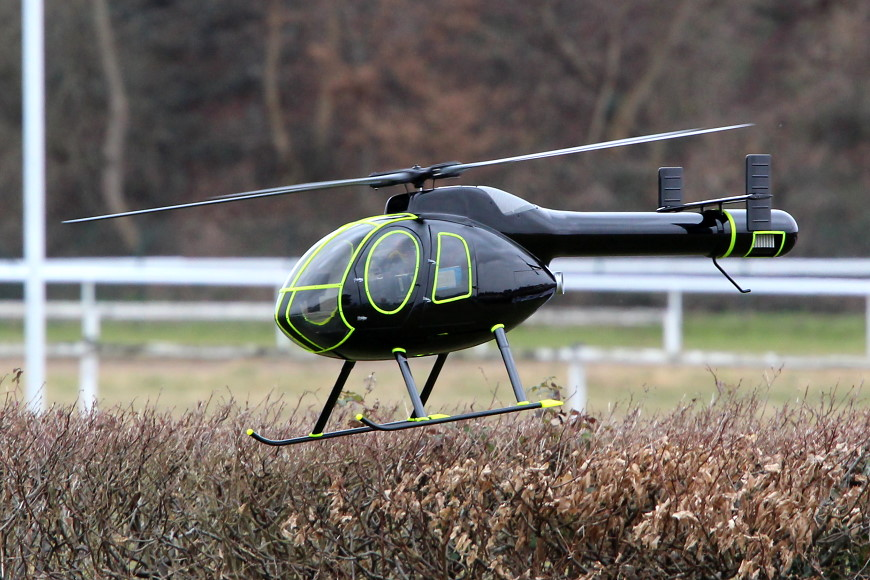 ROTOR live 2018 Iffezheim: MD 520N NOTAR